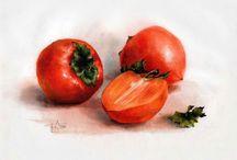 warzywa malarstwo