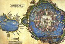 Aztèque city