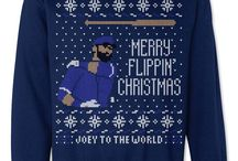 Ugly Christmas Sweatshirts / Fresh Brewed Tees Ugly Christmas Sweaters