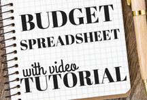 Bill paying spreadsheets