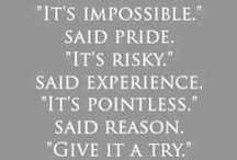 Inspiration ,Motivation