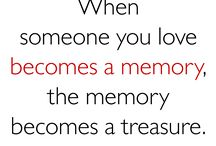 love and memories / by Laura Doty-Aivaz