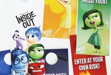 Inside Out / Fun party ideas, crafts and activites inspired by Disney/Pixar Inside Out movie