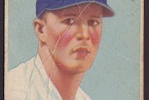 Baseball Cards / Images of baseball cards.