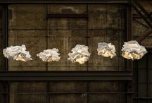 Silver Lining Cloud Lights / I went on to the Contemporist website for the first time in a while this morning and immediately fell in love with these exquisite cloud lights… / by Plascon Trends
