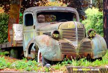 Old trucks / Pics I love of old trucks
