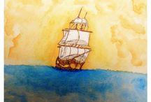 Watercolor paints - Illustrations / Watercolor paints
