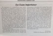 EYE EXAM IMPORTANCE / Dr. Yap tells us about eye examinations