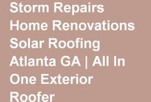 All in One Exterior / All In One Exterior is a specialist within the roofing, reconstruction, and remodeling industry. They offer a broad range of services for commercial and residential buildings, including commercial roofing, residential roofing, storm repairs, renovations, and solar.