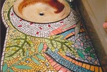Mosaic Art / Even broken pieces of something can come together to form something beautiful!