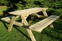 Heavy Duty Picnic Tables / #Roundpicnictables #heavydutypicnictables #Picnictables #Aframedpicnictables