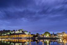 La Citadelle by night