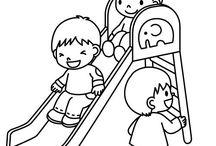 Omalovánky děti