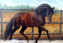animales pintados