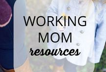 Working Mom Tips / Time Management and Productivity Tips for Working Moms. How to build your direct sales business and your family. Routines and schedules for work from home moms.
