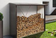 palivove drevo - uskladnenie