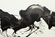 """THE ART OF JAMES NARES / Serving as inspiration for the upcoming 2015/16 collection, """"The Single Stroke"""" series of artworks by James Nares convey flow, lightness, motion. Wanderlust."""