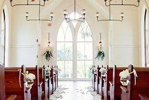 Decoração casamento igreja