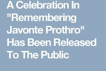 "A Celebration In ""Remembering Javonte Prothro"""