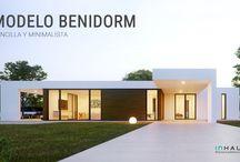 Casa Modular Modelo Benidorm / Sencilla y minimalista; una casa prefabricada de hormigón con todas las comodidades de una primera residencia.