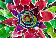 crafts kvety