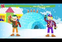 zimowe filmiki dla dzieci