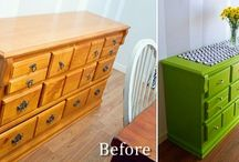 Refurbished Furniture / Check out these fantastic ideas for furniture rehab.
