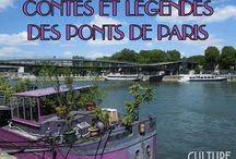 Contes et légendes des Ponts de Paris / Une visite culturelle et historique des Ponts Parisiens