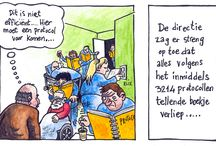 Cartoons van stage bij patientveilig.nl / Test board