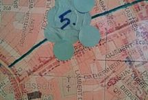 ComART BLAUW TILBURG Oud-Noord / Pin hier je textielideeën voor het communityART project Blauw Tilburg een Tilburgs kunstproject met geschiedenis, water en textiel