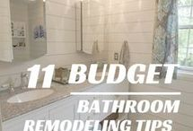 Bathroom Remodel Tips / Remodeling tips for the dreamiest bathroom designs. Hand-picked by Fordham Marble Company, Inc.