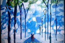 Festményeink, rajzaink