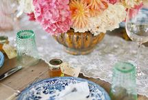 blue and white / by Brandi H