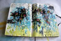 Art journal/canvas