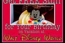 Birthdays at Disney