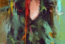 Háló festmény