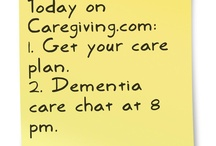 Today / Each morning, we post a sticky to remind you of the day's events on CareGiving.com. / by Denise M. Brown