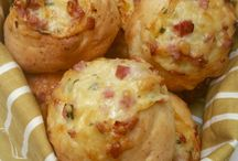 Recipes / Cheese and bacon rolls