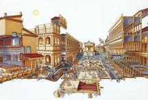 Antik városok