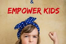 Parenting | Empowered & Independent Children / Focusing on how to empower your child more and develop greater independence. It also covers how to mange and parent strong-willed and independent children.