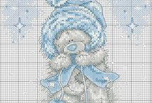 Teddy Bears Cross Stitch
