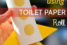 Ruličky od toaletního papiru