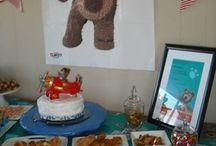 Little Charley Bear Birthday Party / First birthday