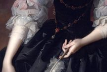 Rubens-inspired gowns