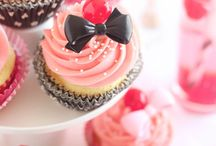 lovely and artistic cup cakes / The kitchen as inspiration