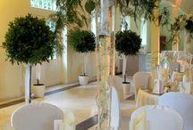 FLORICA Hochzeitsdekorationen, wedding deco, wedding decoration, floral decoration, floral design / Hochzeitsdekorationen, Blumendekorationen für die Hochzeit
