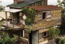 Ciekawe domki i domy