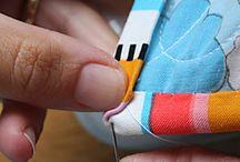 bind a quilt