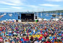 Festivals in Mid-Coast Maine / Weekend Festivals throughout the summer from Rockland to Belfast - don't miss these great escapes to mid-coast Maine! / by Bay Leaf Cottages & Bistro