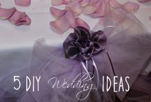 5 DIY Wedding Ideas to Help You Save Money / A few DIY tips and inspiration for a tight budget wedding - read the blog at http://www.kkcatering.co.uk/5-diy-wedding-ideas-to-help-you-save-money/